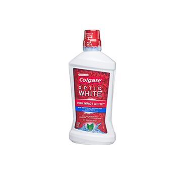 Colgate® OPTIC WHITE® WHITENING MOUTHWASH