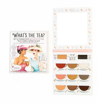 the Balm® What's The Tea?® Hot Tea Eyeshadow Palette