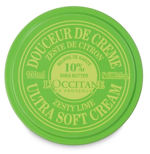 L'Occitane Zesty Lime Shea Butter Ultra Soft Cream