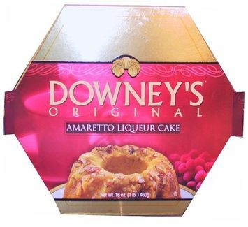 Downey's Original Amaretto Cake, 16 oz Box