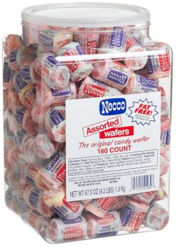 NECCO Assorted Wafers, The Original Candy Wafer, 150 ct