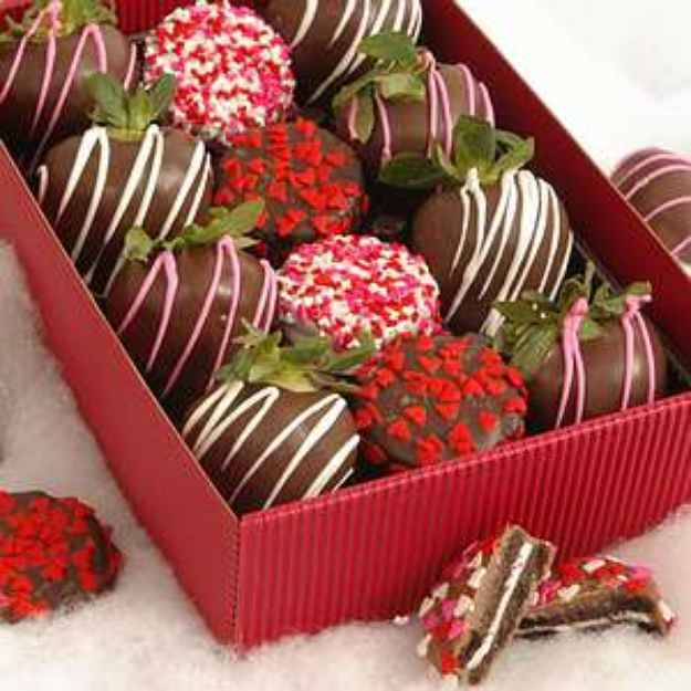 Bouquet Of Fruits Valentine Chocolate Dipped Strawberries Reviews 2021
