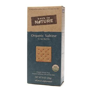 Back to Nature Organic Saltine Crackers