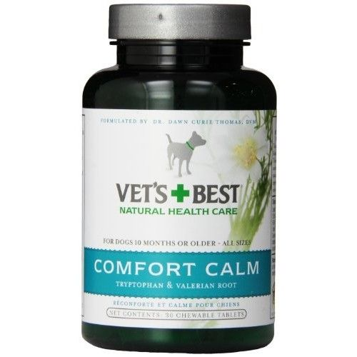 Vet's + Best Vet's Best Comfort Calm, 30 Chewable Tablets