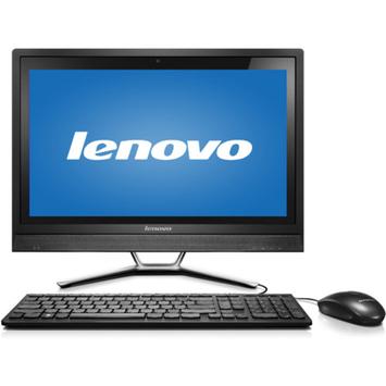 Lenovo C460 All-in-One Computer - Intel Pentium G3250T 2.80 GHz - Desktop - Black