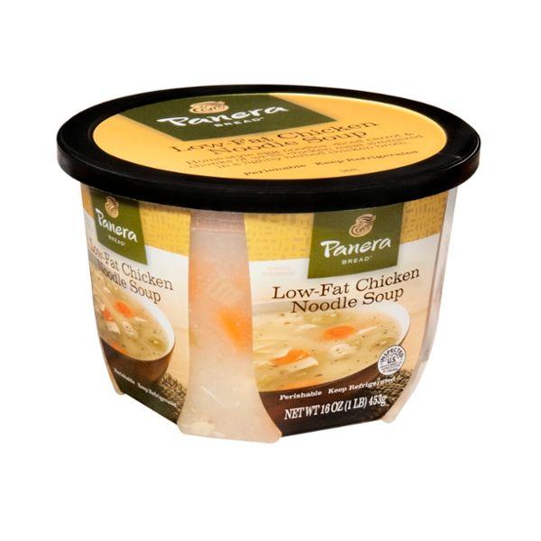 Panera Bread Low-Fat Chicken Noodle Soup