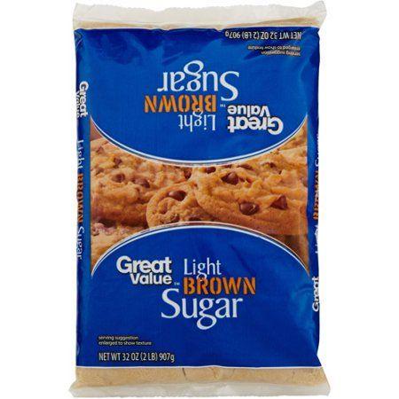 Great Value Light Brown Sugar