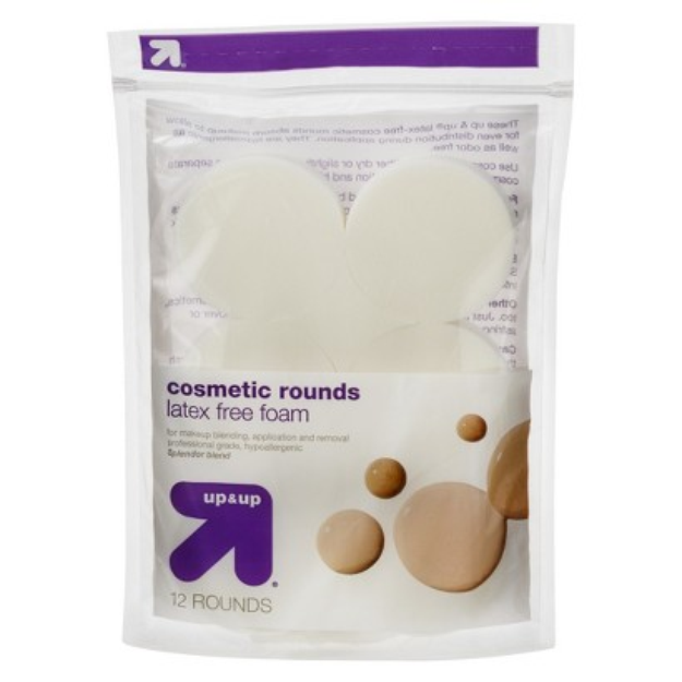 up & up Latex Free Cosmetic Rounds - 12 ct