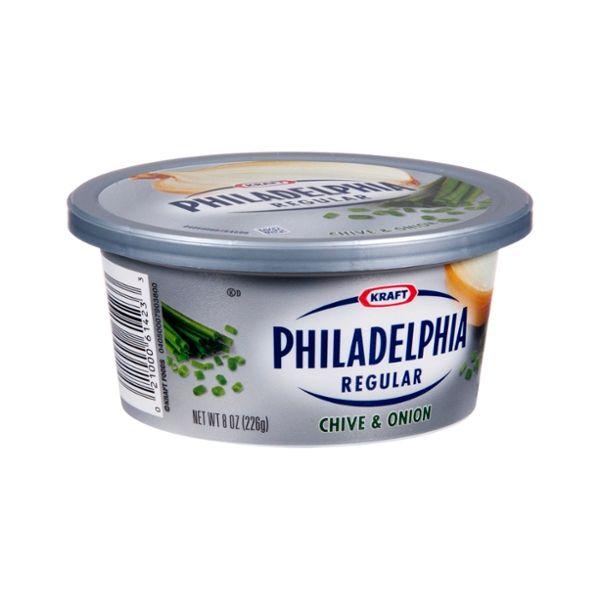 Philadelphia Regular Chive & Onion Cream Cheese
