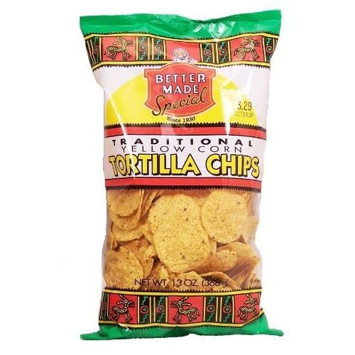 Better Made traditional yellow tortilla chips, 13-oz. bag