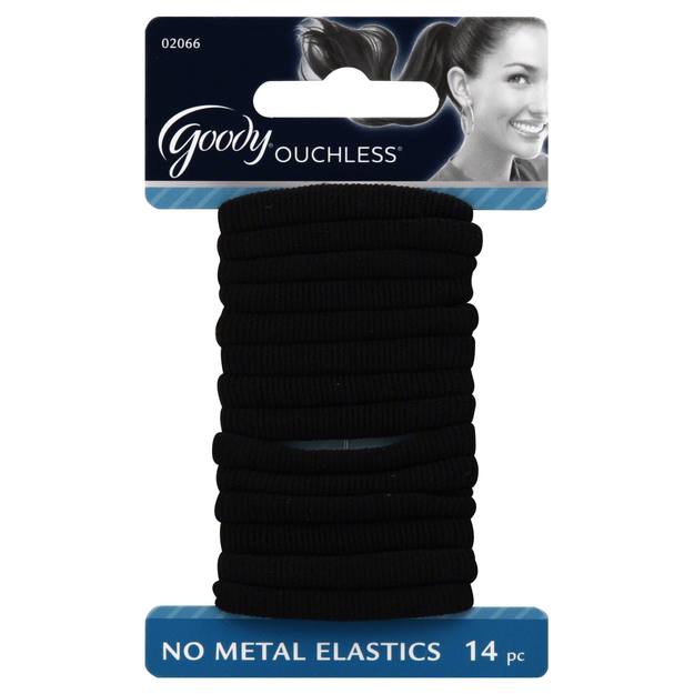 Goody Ouchless Comfort Ponytailer Black 14 CT