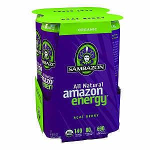 Sambazon All Natural Amazon Energy