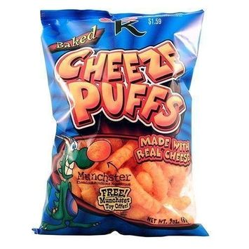 Cheese Kurl Baked Cheese Puffs (Pack Of 12) Pack Of 12 Pcs