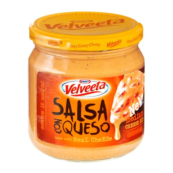 Velveeta Salsa Con Queso Medium Cheese Dip