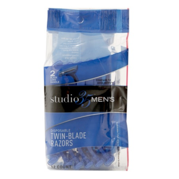 Studio 35 Men's Disposable Twin-Blade Razors