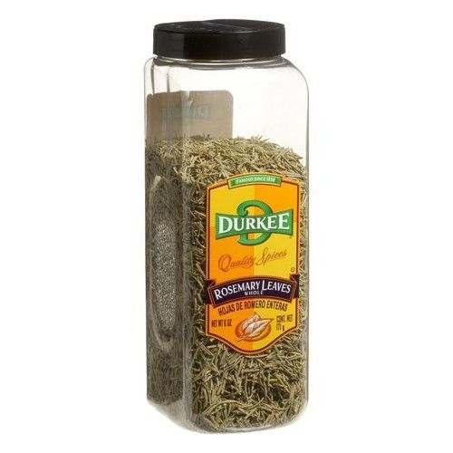 Durkee Rosemary Leaves, Whole, 6-Ounce Packages (Pack of 2)