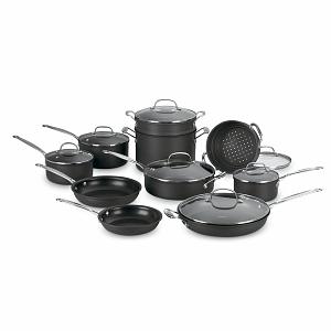 Cuisinart 17 Piece Cookware Set