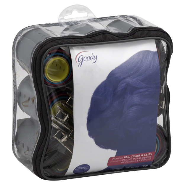 Goody Products Inc. Mosaic Magnetic Roller Kit, 75 CT