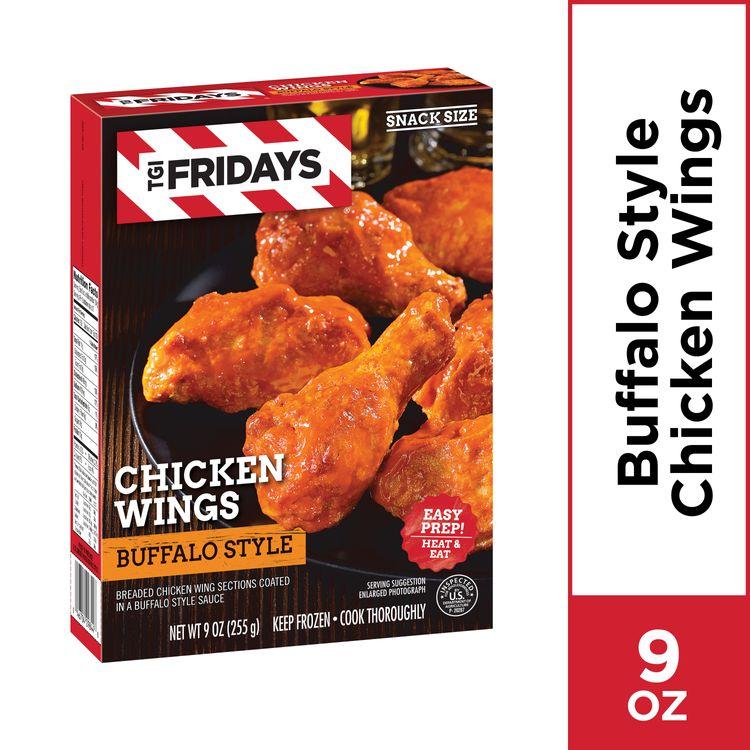 TGI Fridays Buffalo Style Chicken Wings, Frozen Appetizer