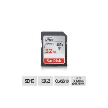 SanDisk 32GB Ultra SDHC UHS-I Card