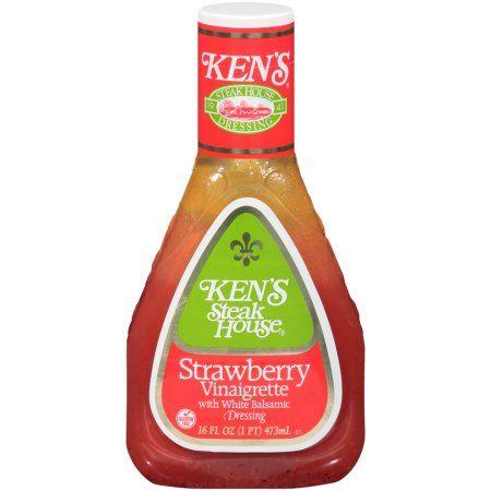 Ken's Strawberry Vinaigrette With White Balsamic