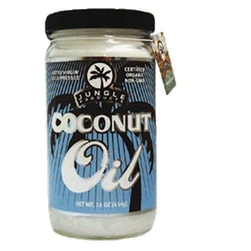 Jungle Products Extra Virgin Coconut Oil, 14-Ounce