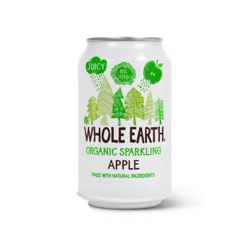 Whole Earth Organic Sparkling Drink Apple
