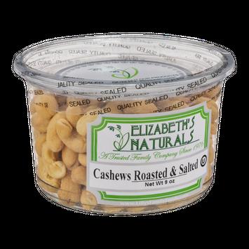 Elizabeth's Naturals Cashews Roasted & Salted