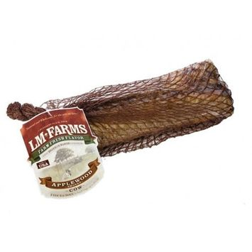 L M Animal L/M Animal Farms DLM13665 2-Pack Applewood Smoked Cow Rib Bone Dog Treat