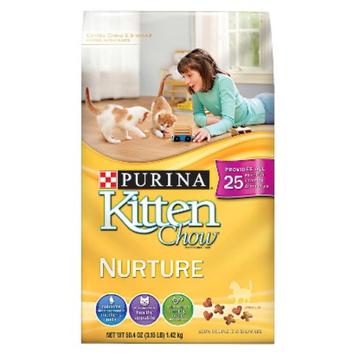 Purina Cat Chow Purina Kitten Chow Nurture Dry Cat Food - 3.15 lb