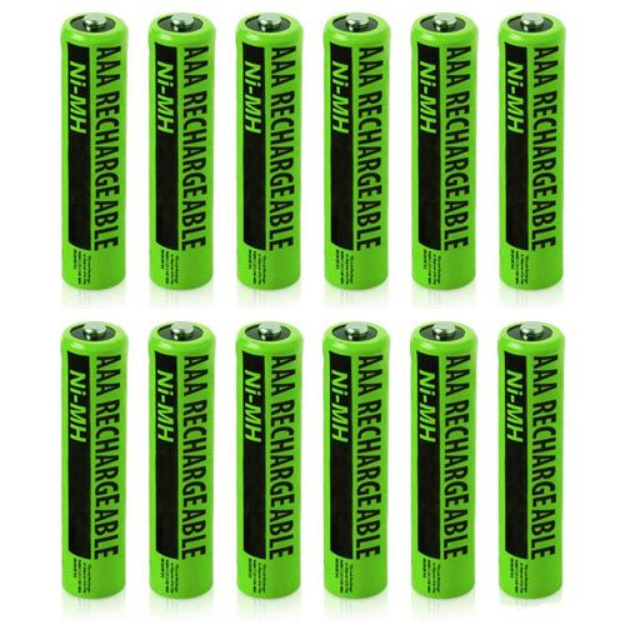 NIMH AAA GE (12-Pack) 2 Pack Replacement Battery