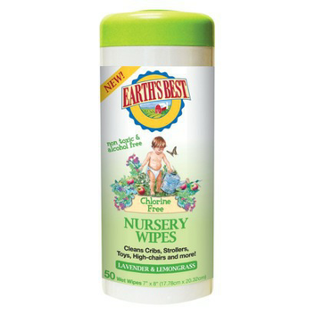 Earth's Best Nursery Wipes Lavender & Lemongrass - 300 Count