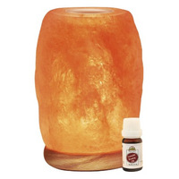WBM Aroma Therapy & Natural Air Purifying Himalayan Salt Lamp With Neem