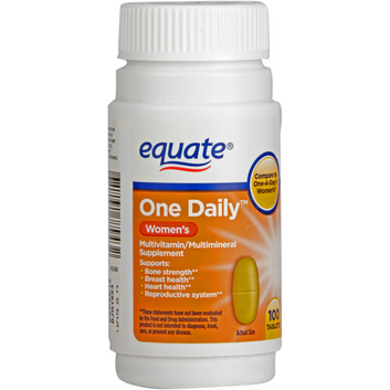 Equate One Daily Women's Multivitamin Multimineral Supplement