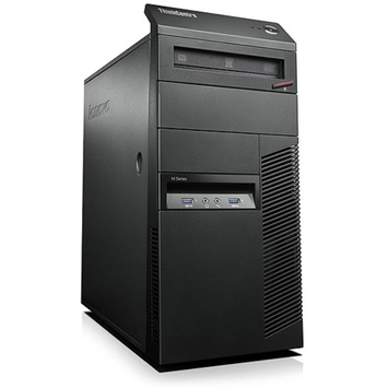 Lenovo ThinkCentre M83 Mini Tower Desktop PC with Intel Core i7-4770 Quad-Core Processor, 4GB Memory, 1TB Hard Drive and Windows 7 Professional