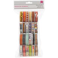 American Crafts Value Pack Seasonal 1 Premium Ribbon - 24 Spools