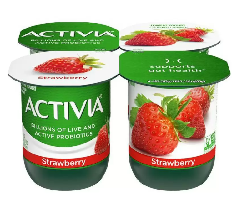 Activia Strawberry 4X40Z