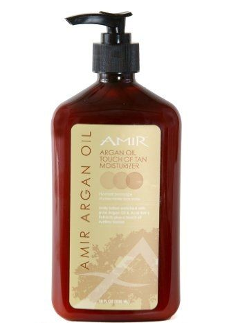 Amir Argan Oil Touch of Tan Moisturizer 18 oz