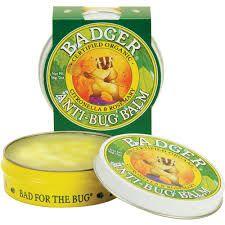 BADGER® Anti-Bug Balm Tins - Natural Mosquito Repellent