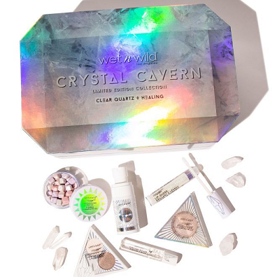 wet n wild Crystal Cavern Clear Quartz Box