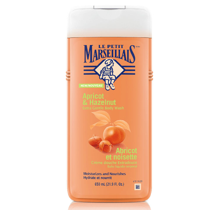 Le Petit Marseillais Apricot & Hazelnut Extra Gentle Body Wash