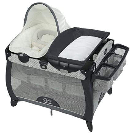 Graco Pack 'n Play® Quick Connect™ Playard with Portable Seat DLX