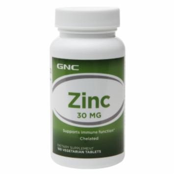GNC Zinc 30, Vegetarian Tablets, 100 ea