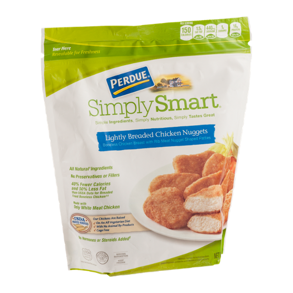 Predue Simply Smart Lightly Breaded Chicken Nuggets