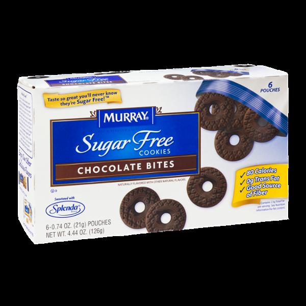 Murray Sugar Free Cookies Chocolate Bites - 6 CT
