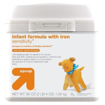 up & up Baby Food Infant Formula Sensitivity 36 oz