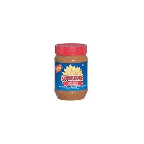 SunButter Sunflower Seed Spread Omega-3 - Creamy 16 oz Jar
