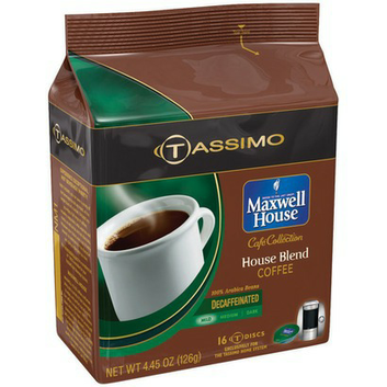 Tassimo Cafe Collection House Blend Coffee Discs 16-ct.