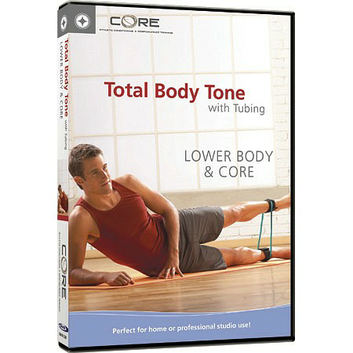 STOTT PILATES DVD - Total Body Tone with Tubing: Lower Body & Core