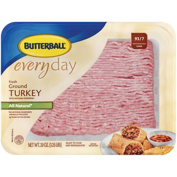 Butterball EveryDay Fresh All Natural Lean Ground Turkey, 20 oz